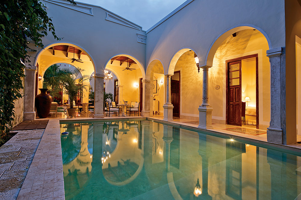 Hotel boutique yucateco