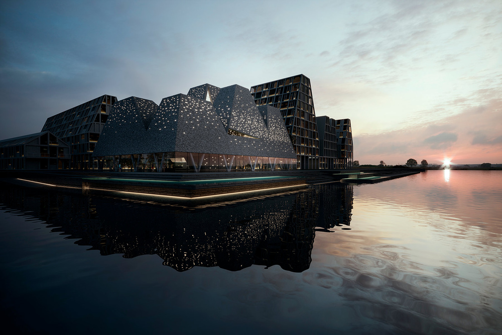 Waterfront Cultural Center en Copenhagen