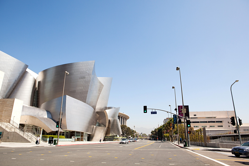 Walt Disney Concert Hall, Los Angeles (1999-2003).